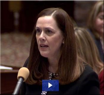 Senator Lisa Baker floor remarks