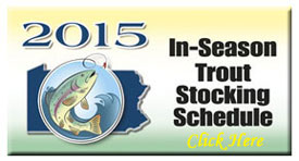 In-Season Trout Stocking Schedule