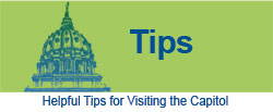 Helpful Tips for Visiting the Capitol